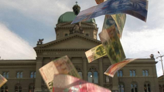 Der Bund rechnet neu mit mehr Einnahmen für das laufende Jahr (Symbolbild)