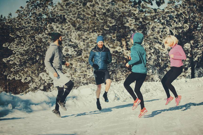 Geteiltes Leid ist halbes Leid - Nehmt euch Trainings-Buddys (Bild: iStock)