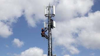 Der Aufbau der 5G-Netze hilft dem schwedischen Unternehmen. (Archivbild)