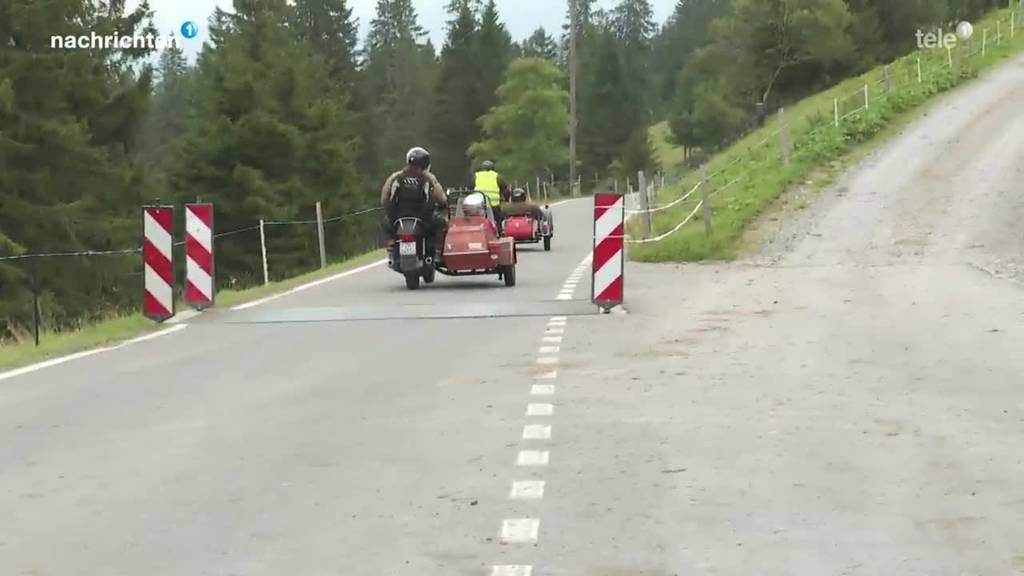 Seitenwagenausfahrt mit der Stiftung Rütimattli in Sachseln