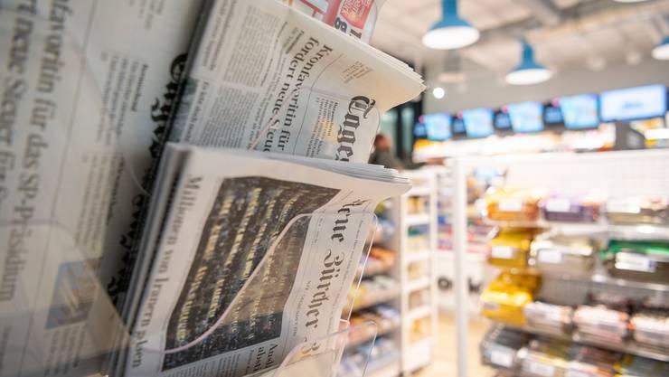 Die NZZ ist auch dieses Jahr Siegerin bei den Tages- und Onlinezeitungen.