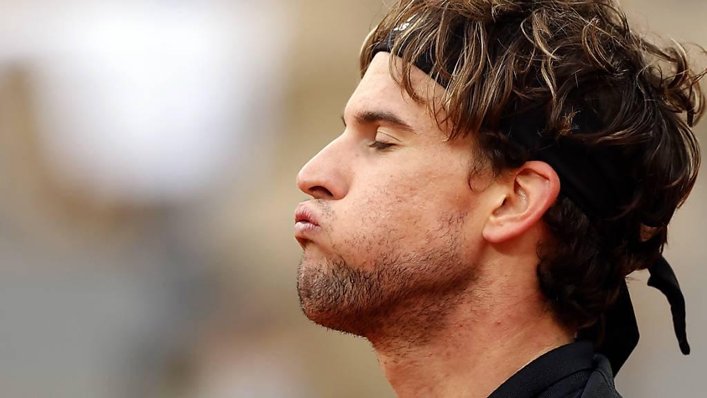Am Ende ging die Puste aus: US-Open-Champion Dominic Thiem scheiterte am French Open erstmals seit 2015 vor dem Halbfinal.