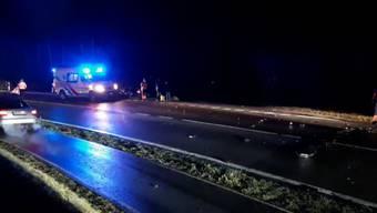 Im Wald zwischen Bremgarten und Wohlen kam es bereits zum zweiten Mal innert weniger Tage zu einem schweren Unfall.