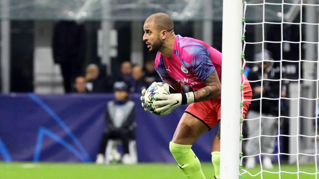 Kyle Walker konnte sich selbst als Interims-Goalie von Manchester City nicht beeindrucken.