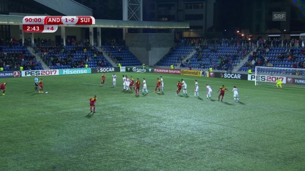 Glanzloser Pflichtsieg gegen Andorra