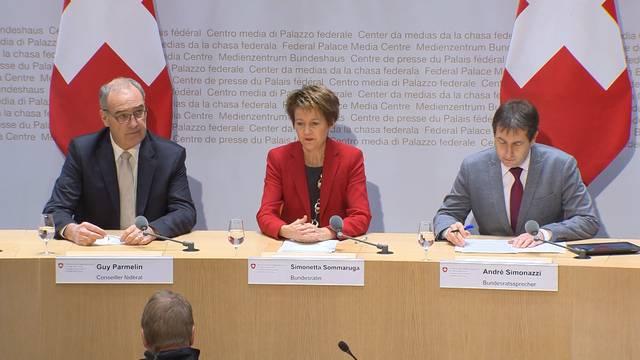 Departementsverteilung: Rochade im Bundesrat