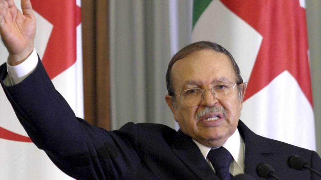Algeriens Ex-Präsident Bouteflika stirbt mit 84 Jahren