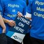 Wegen des angedrohten Streiks des Ryanair-Personals hat die Fluggesellschaft für diesen Mittwoch 150 Flüge von und nach Deutschland gestrichen. (Archiv)