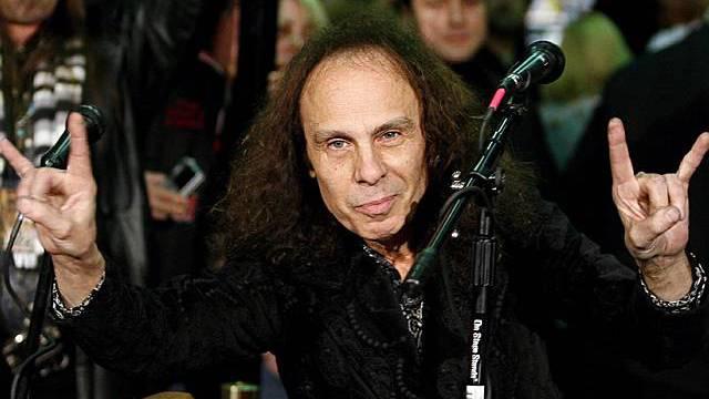 Ronny James Dio erlag seinem Magenkrebsleiden