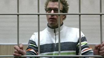 Schweizer Greenpeace-Aktivist Marco Weber bleibt in Haft