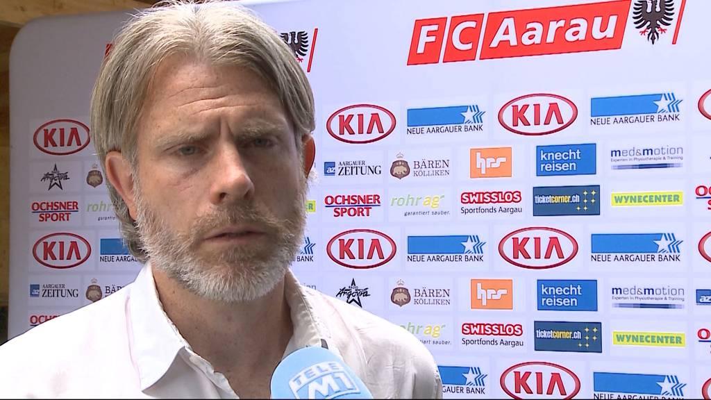 Stephan Keller ist neuer Trainer beim FC Aarau