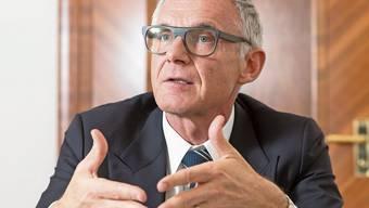 Wehrt sich gegen den Vorwurf, zu spät gehandelt zu haben: Urs Rohner, Verwaltungsratspräsident der Credit Suisse.