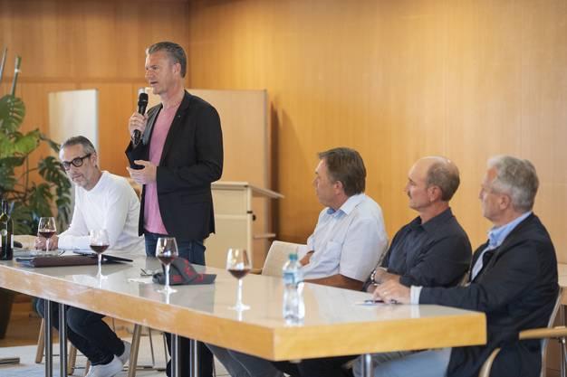 (v.l.) Marco Bieri, Roland Michel, Andreas Meier, Stefan Meier und Daniel Schoch.