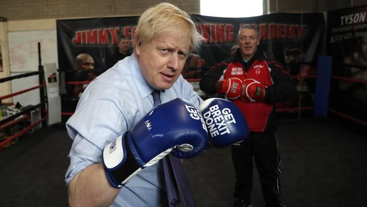Gegen 12 Konkurrenten muss sich Boris Johnson in seinem Wahlkreis durchschlagen.