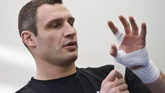 Witali Klitschko gibt seinen WM-Titel freiwillig frei.