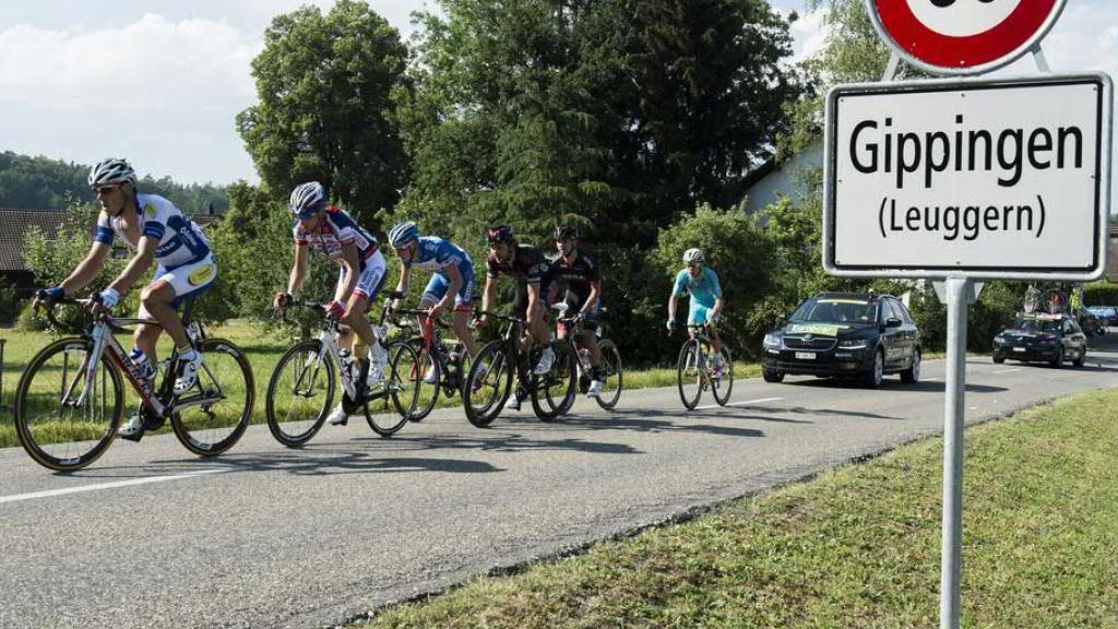Tödlicher Unfall an den Radsporttagen Gippingen: Das Bundesgericht bestätigt den Freispruch für einen Radrennfahrer, der den Sturz von vier Fahrern verursachte. (Archivfoto)