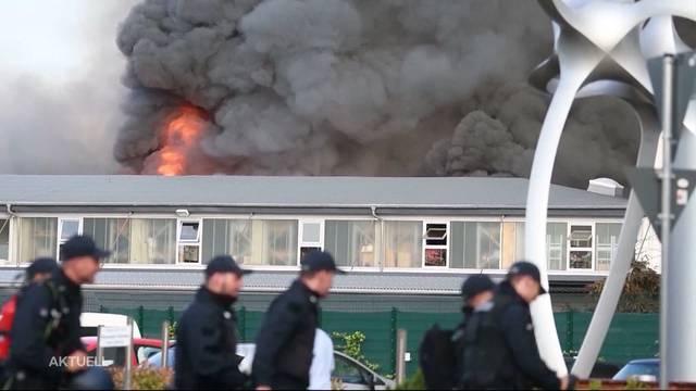 Brandursache in Europa Park geklärt