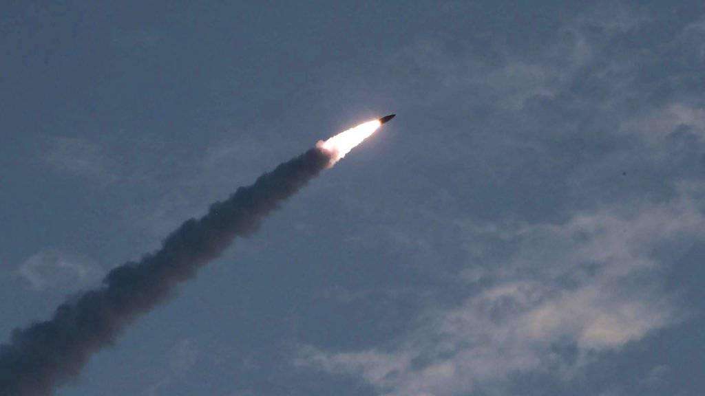 Nordkorea testet erneut zwei Raketen