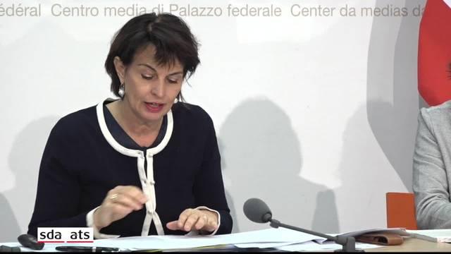 Energieministerin Doris Leuthard nimmt Stellung zur Kritik an der Energiestrategie
