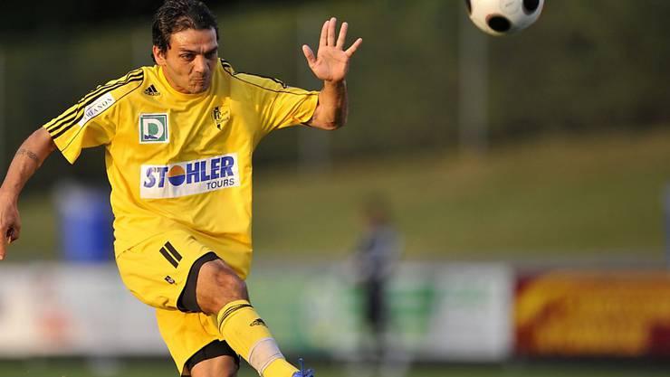 Massimo Lombardo beendete seine Karriere im Dress von Stade Nyonnais