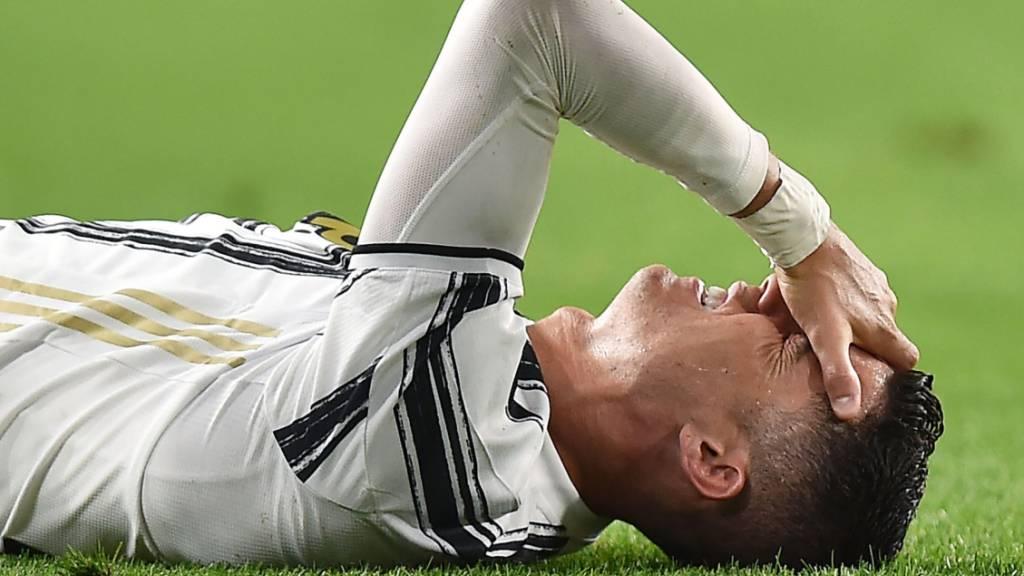 Verpasst Cristiano Ronaldo mit Juventus Turin die Champions League? Nach dem 0:3 gegen Milan ist der entthronte Meister nicht mehr in den Top 4