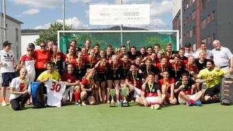 Die Damen- und die Herrenmannschaft konnten den Titel gewinnen.