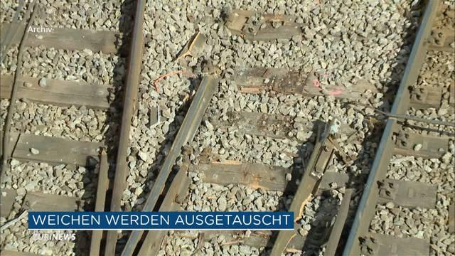 Weichentyp verantwortlich für vermehrte Zugunfälle
