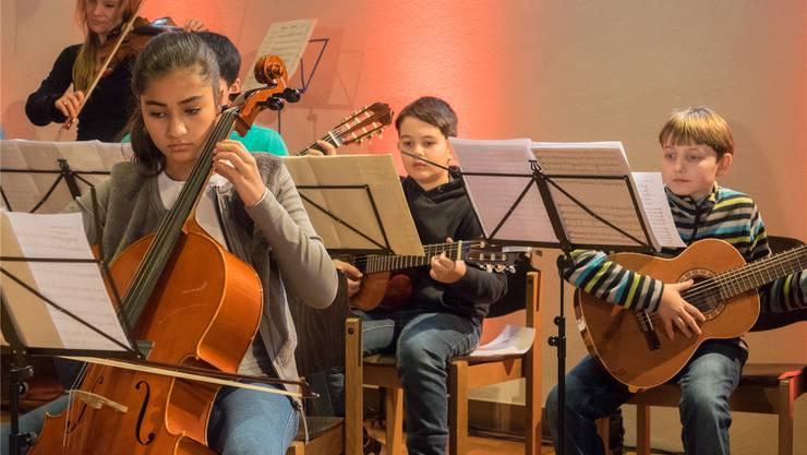 Die jungen Musizierenden der Musikschule Schlieren treten auch in diesem Jahr an einigen Anlässen auf.