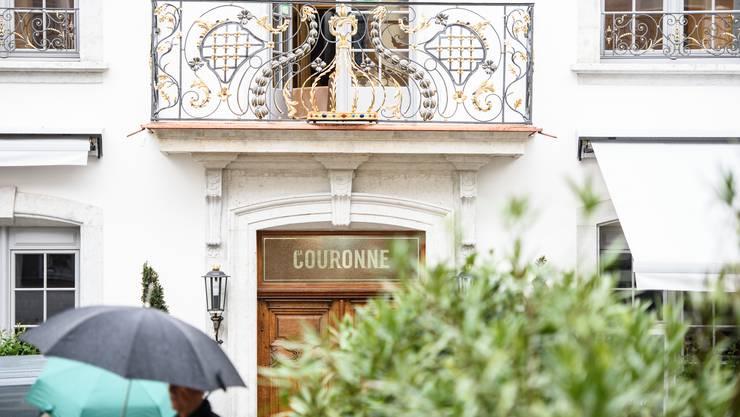 Die «Couronne» wird neu eröffnet.