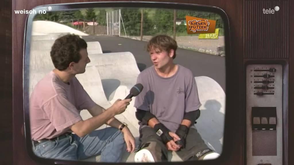 «Weisch no?» Rollerpark Sattel 1995