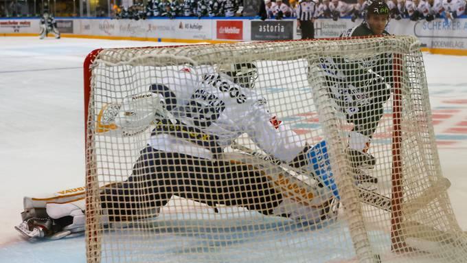 Eishockey, Swiss League, 1. Runde, EHC Olten - HC La Chaux-de-Fonds