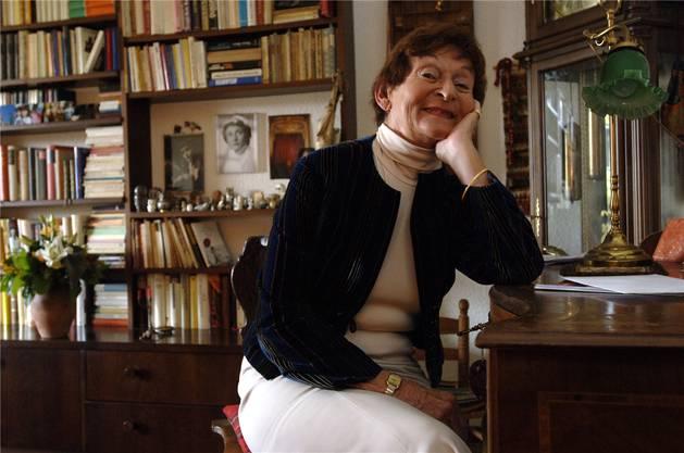 1950 kam sie ans Stadttheater Solothurn. In der Ambassadorenstadt verliebte sie sich.