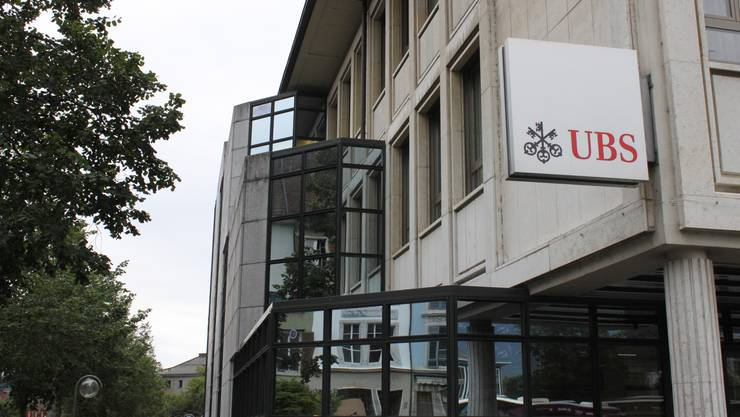 Die UBS-Filiale in Solothurn. (Symbolbild)