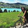 Gabriela Suter, SP, Aarau, am Hallwilersee