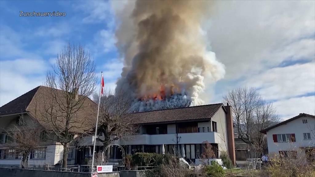 Leichenfund in Brandruine: Wirt vom Restaurant Kreuz in Wichtrach trauert um seinen Mieter