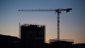 Noch nicht zu Ende: Der Bauboom geht weiter.