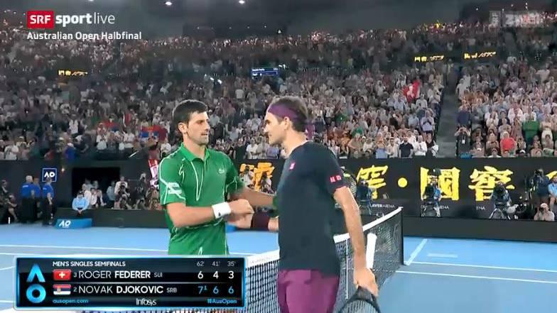 Djokovic schlägt Federer und steht im Final
