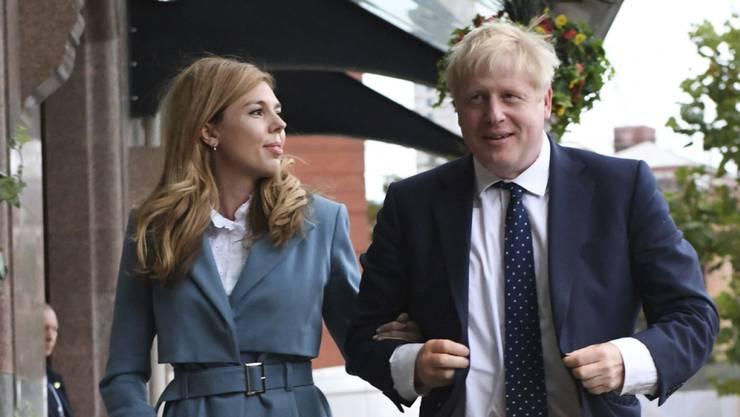 Bald ist das Familienglück perfekt in 10, Downing Street: Die Johnsons erwarten Nachwuchs.