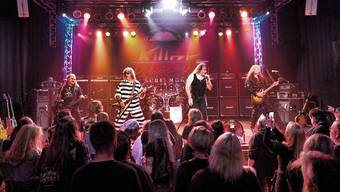 Die Solothurner Hardrock-Band Killer (Formation 2019)