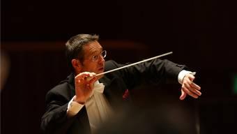 Douglas Bostock, Chefdirigent des Aargauer Symphonie Orchesters, muss passen (Archiv)