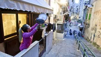 Die musizierenden Italiener auf ihren Balkonen werden in Erinnerung bleiben.