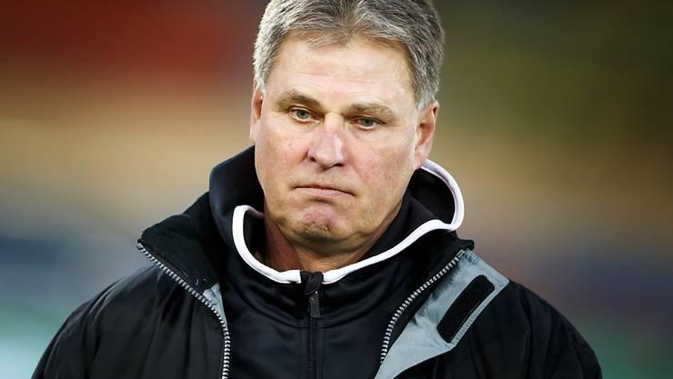 Trainer Ralf Loose musste sich mit Winterthur mit einem Unentschieden zufrieden geben