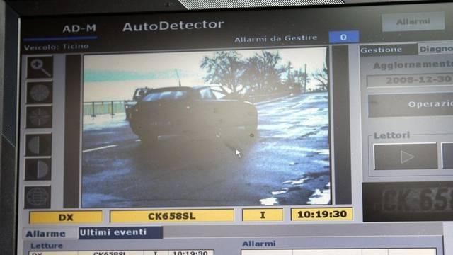 Ein Autonummern-Scanner (Archiv)