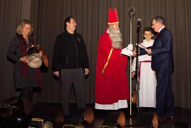 St. Nikolaus darf sich in Wohlen über den Kulturpreis freuen.