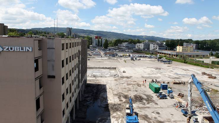 Die Stadt habe bei der Vergabe des Tiefbau-Aufrags im Reitmen nicht nachhaltig gehandelt, kritisierte der Weininger Bauunternehmer Jakob Richi.