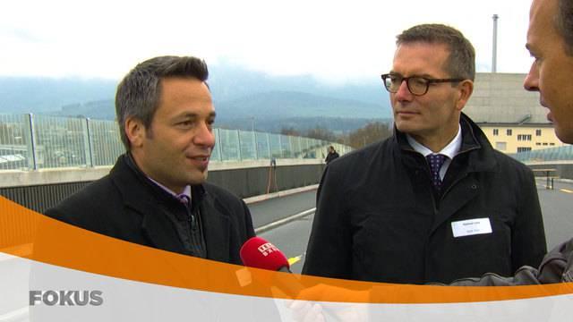 Eröffnung der Strassenverbindung Thun-Nord