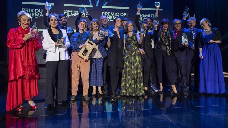 Verleihung des Schweizer Filmpreises in Genf.