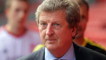 Roy Hodgson im Gespräch als Coach von England.