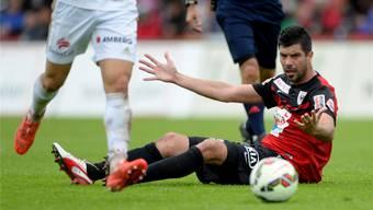 Dante Senger verlässt den FC Aarau.