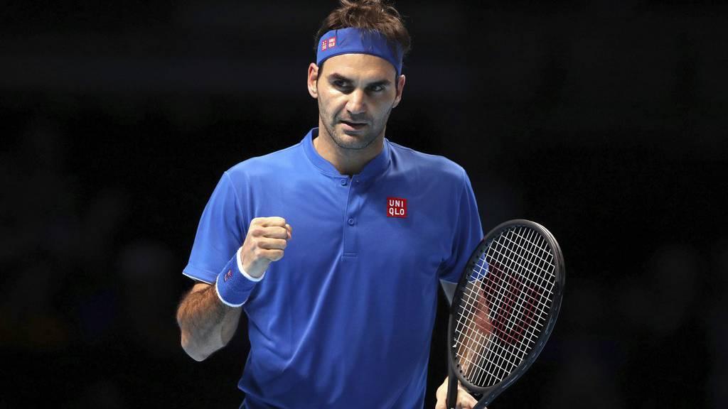 Kämpft um den Finaleinzug: Roger Federer.